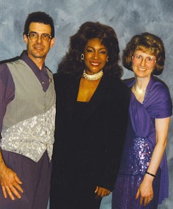Tom Ingrassiawith Mary Wilson and Barbara Ingrassia